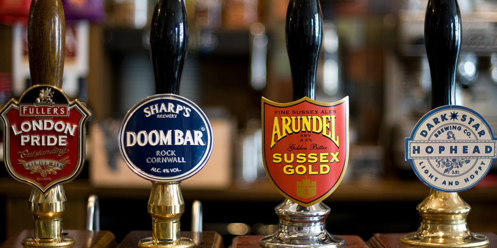 Some local Sussex ales